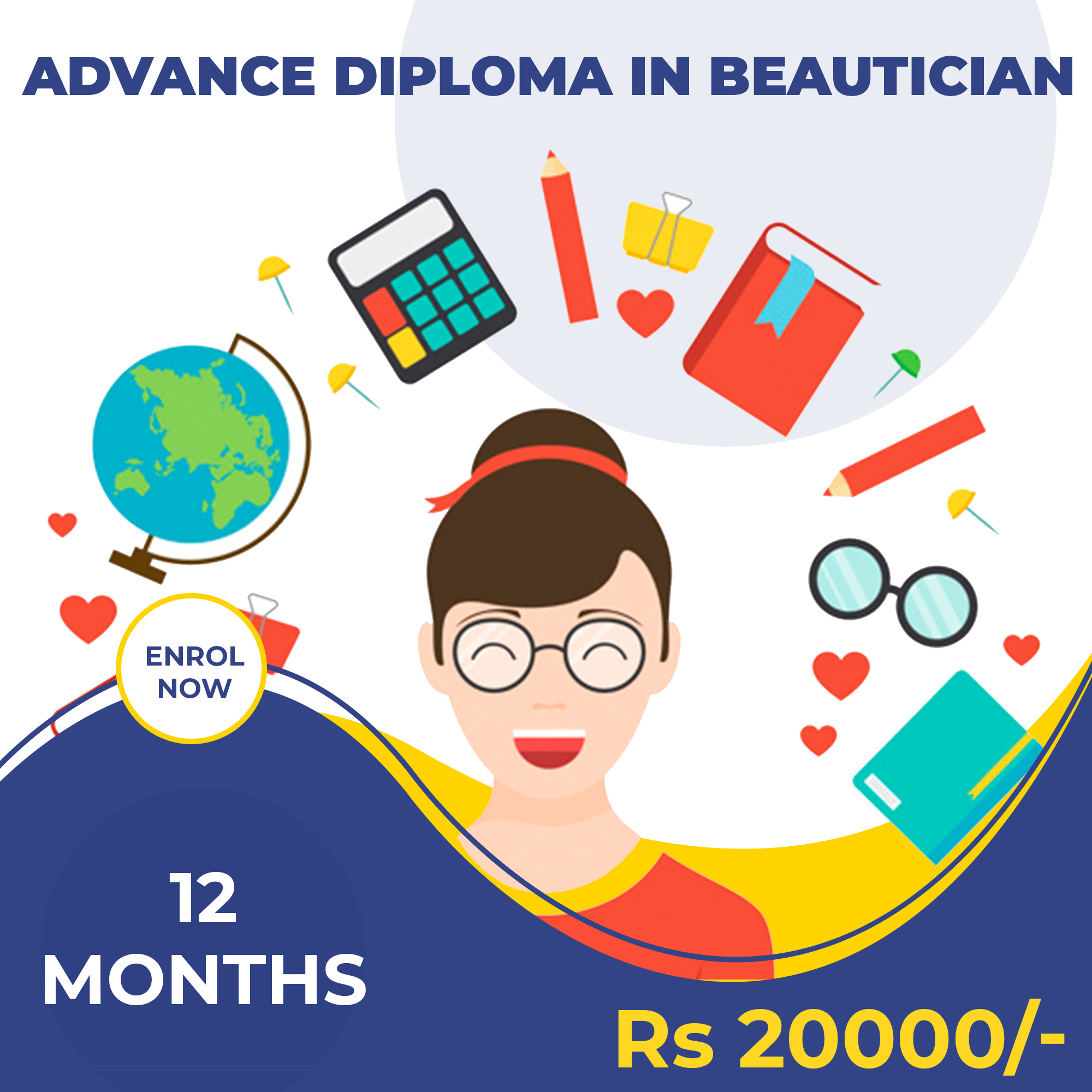 ADVANCE DIPLOMA IN BEAUTICIAN